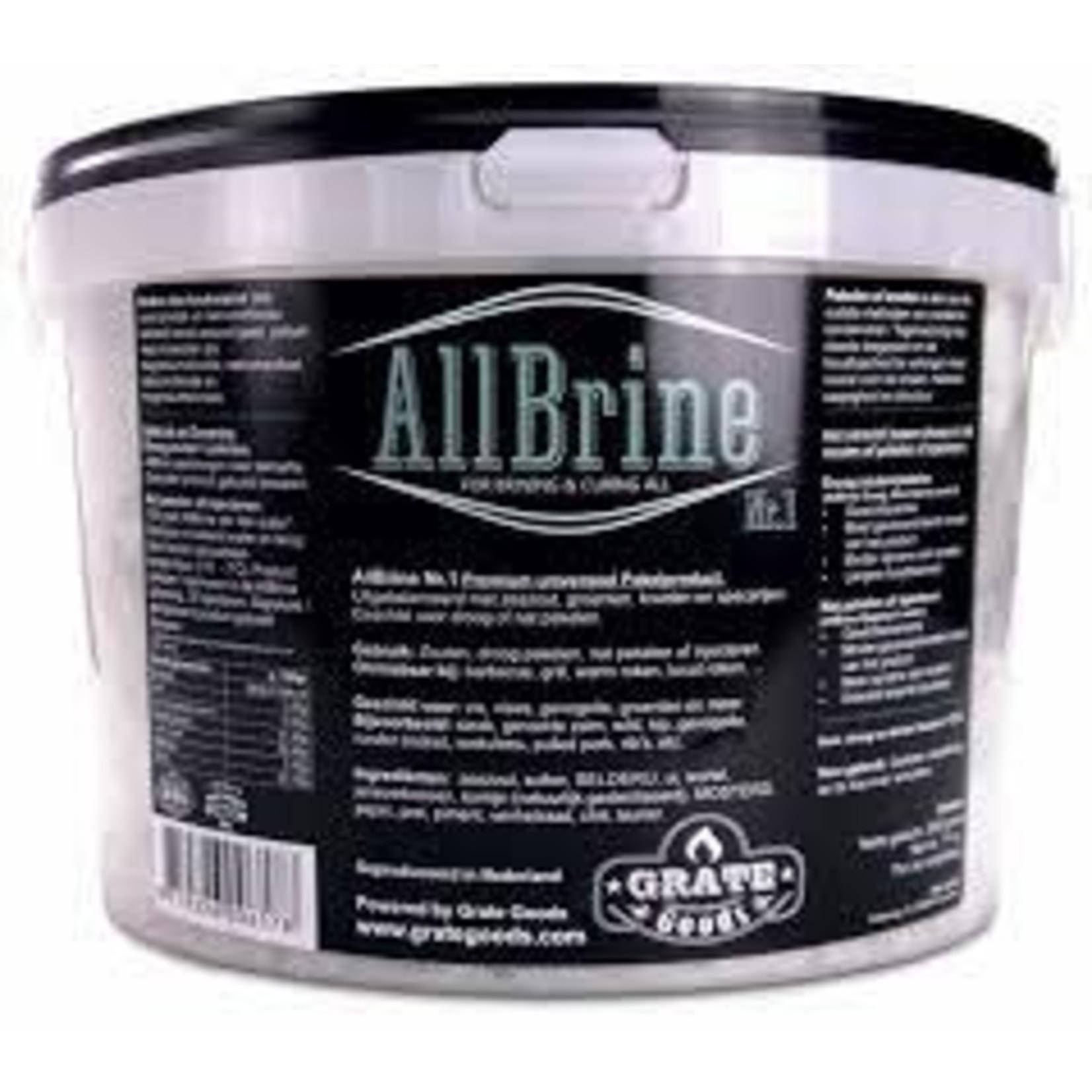 Grate Goods Grate Goods Allbrine nr1 2kilo