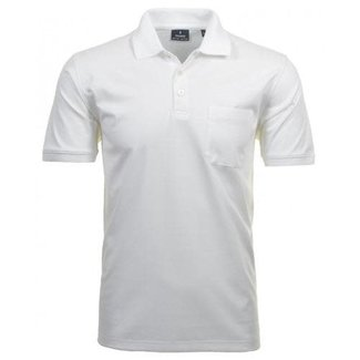 RAGMAN Polo Shirt weiss