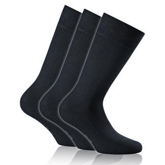 ROHNER 3er Pack Socken DUNKELBLAU