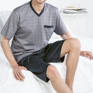 ISA Pyjama grau-blau 121501