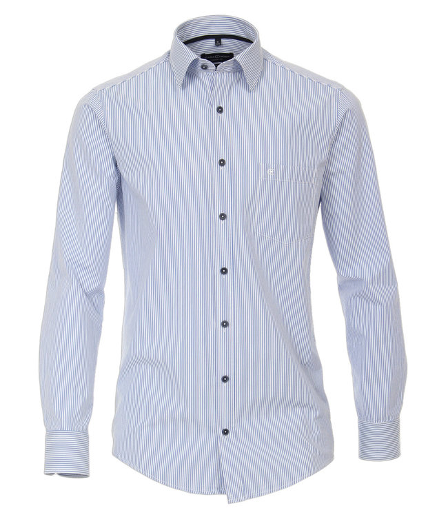 CASA MODA Casa Moda Hemd langarm blau