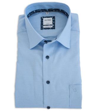OLYMP Olymp Hemd langarm blau