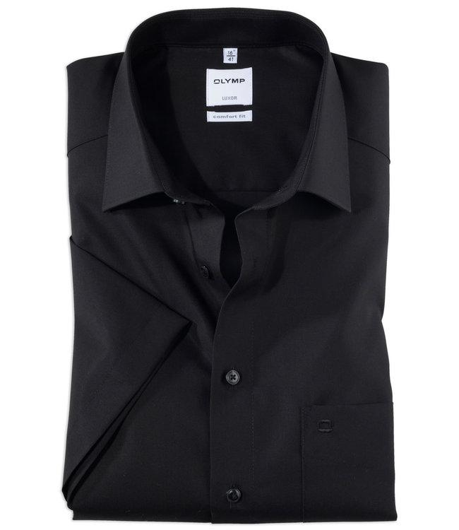 OLYMP Olymp Hemd kurzarm schwarz