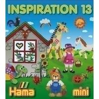 Hama strijkkralen patronen voorbeeldboekje 13 MINI