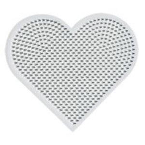 Hama Hama mini strijkkralen grondplaat hart