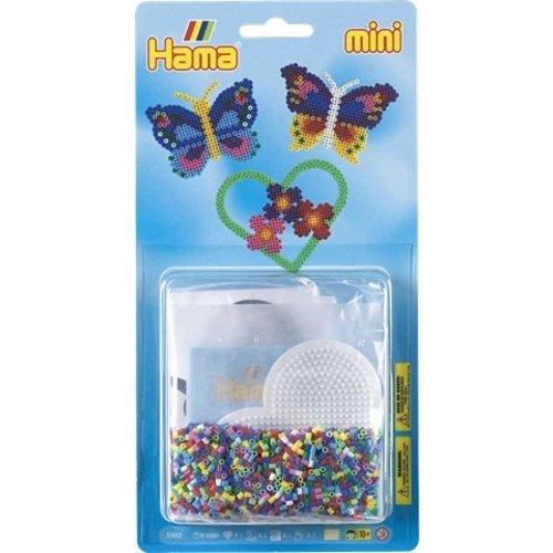 Hama Hama mini strijkkralen set Vlinders 5502