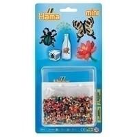Hama mini strijkkralen Vlinder, roos en Spin 5513