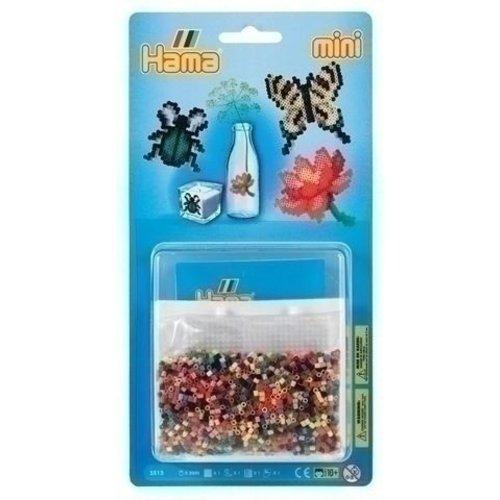 Hama Hama mini strijkkralen Vlinder, roos en Spin 5513