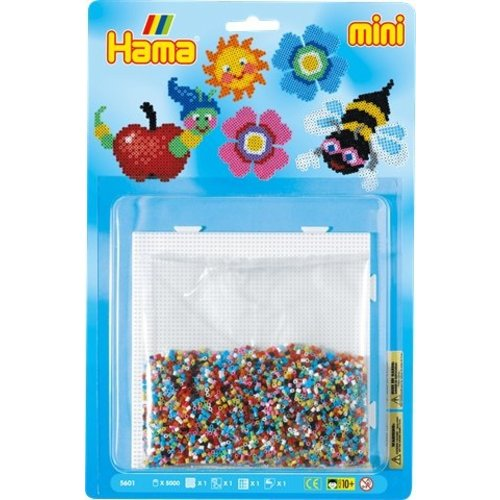 Hama Hama mini strijkkralen set Zomer 5601