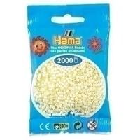 Hama mini strijkkralen ivoor 0002