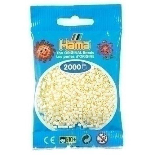 Hama Hama mini strijkkralen ivoor 0002