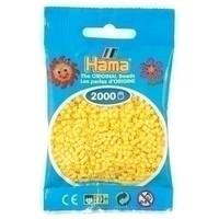 Hama mini strijkkralen geel 0003