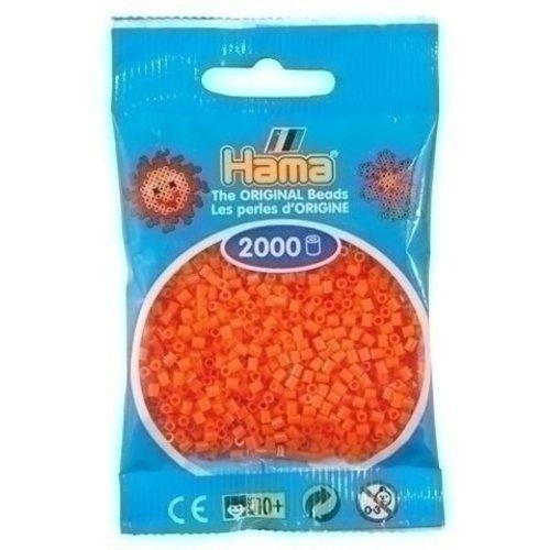 Hama Hama mini strijkkralen oranje 0004