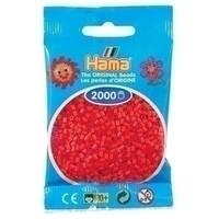 Hama mini strijkkralen rood 0005