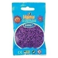 Hama mini strijkkralen paars 0007