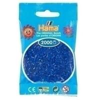 Hama mini strijkkralen donkerblauw 0008
