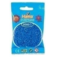 Hama mini strijkkralen lichtblauw 0009