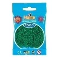 Hama mini strijkkralen groen 0010
