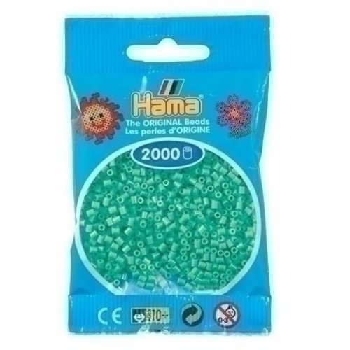 Hama Hama mini strijkkralen mint 0011