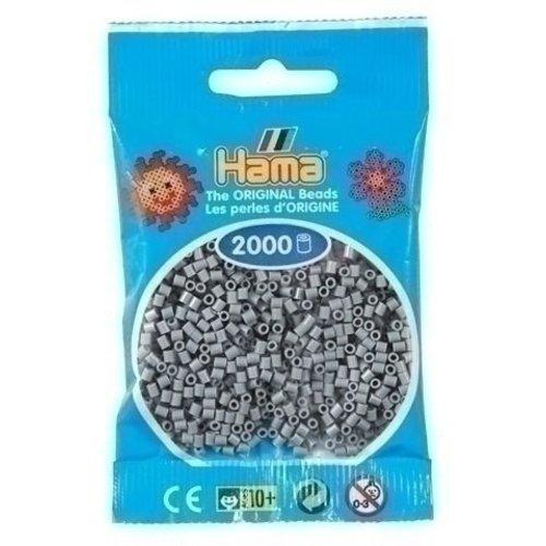 Hama Hama mini strijkkralen grijs 0017