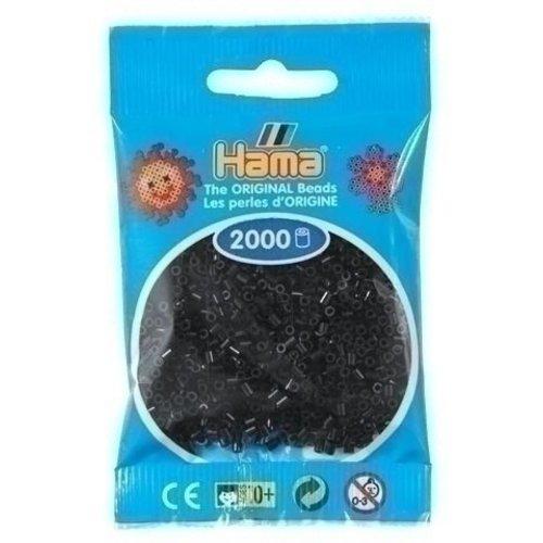 Hama Hama mini strijkkralen zwart 0018