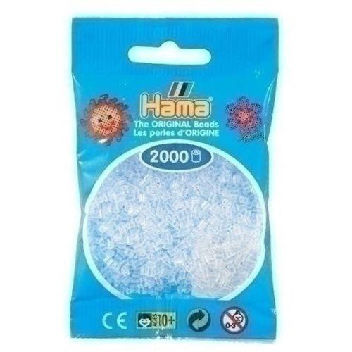 Hama Hama mini strijkkralen doorzichtig 0019