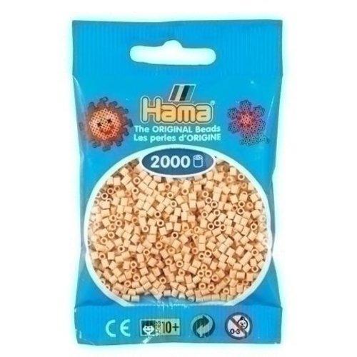 Hama Hama mini strijkkralen beige 0027