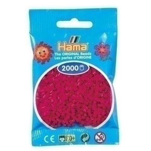 Hama Hama mini strijkkralen bordeaux 0029