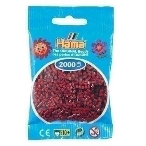 Hama Hama mini strijkkralen bordeaux rood 0030