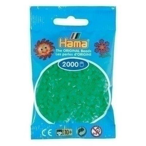 Hama Hama mini strijkkralen groen neon 0037