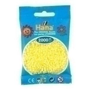 Hama Hama mini strijkkralen geel pastel 0043