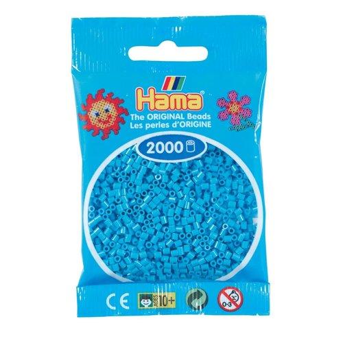 Hama Hama mini strijkkralen Azure blauw 49
