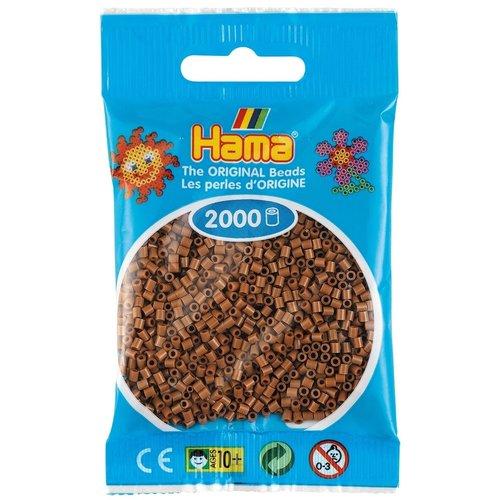 Hama Hama mini strijkkralen Nougat Bruin 0076 2000 st