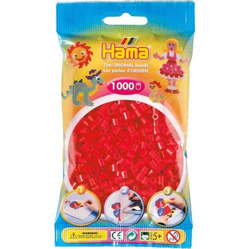 Hama Hama Strijkkralen 0005 rood 1000 st.