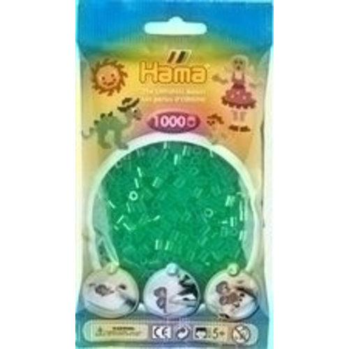Hama Hama Strijkkralen 0016 groen doorzichtig 1000 st.