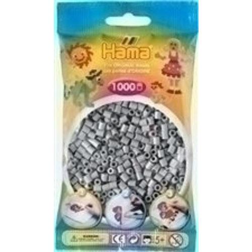 Hama Hama Strijkkralen 0017 grijs 1000 st.