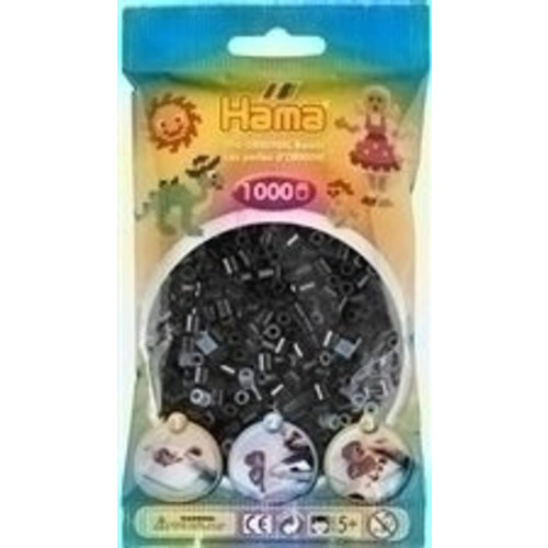 Hama Hama Strijkkralen 0018 zwart 1000 st.