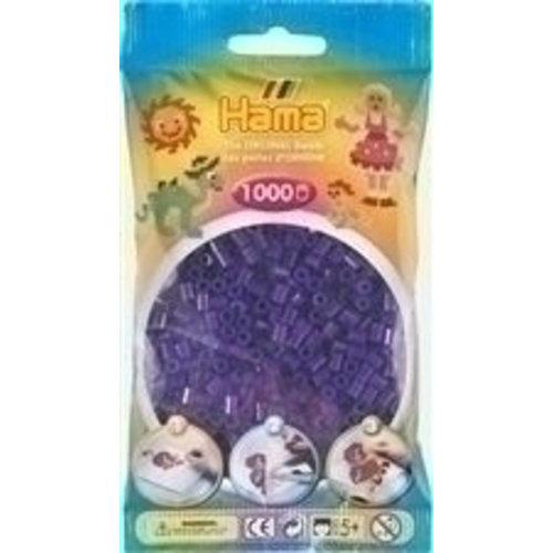 Hama Hama Strijkkralen 0024 paars doorzichtig 1000 st.