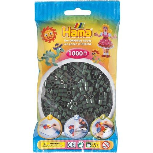Hama Hama Strijkkralen 0028 donkergroen 1000 st.