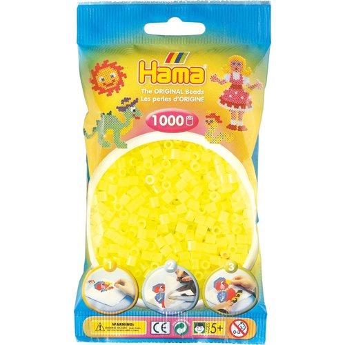 Hama Hama Strijkkralen 0034 geel neon 1000 st.