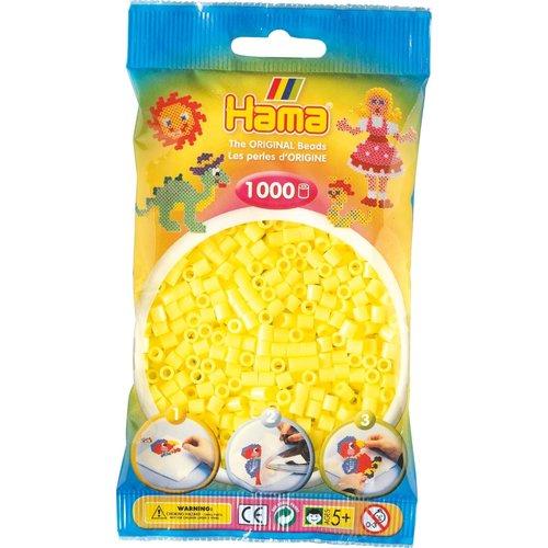 Hama Hama Strijkkralen 0043 geel pastel 1000 st.