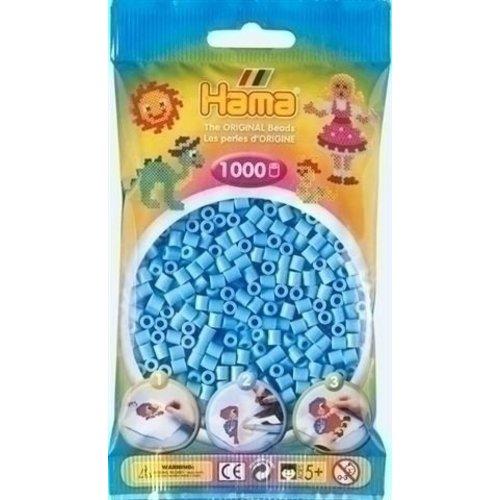 Hama Hama Strijkkralen 0046 blauw pastel 1000 st.