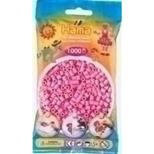 Hama Hama Strijkkralen 0048 roze pastel 1000 st.