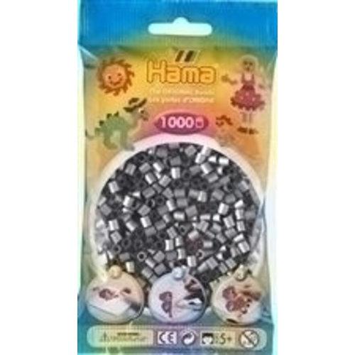 Hama Hama Strijkkralen 0062 Zilver 1000 st.