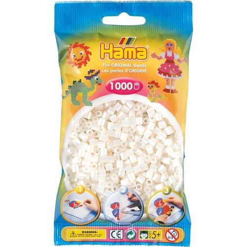 Hama Hama strijkkralen 0064 Parelwit 1000 st
