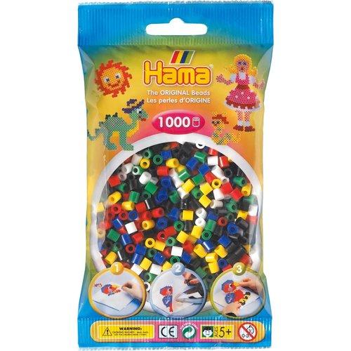 Hama Hama Strijkkralen 0066 Primair gemengd 1000 st.