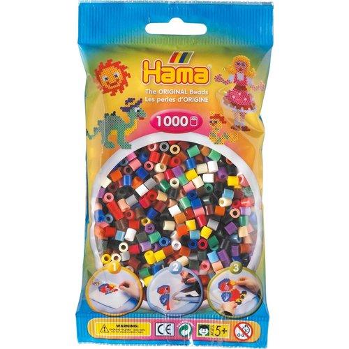 Hama Hama Strijkkralen 0067 Gemengd 1000 st.