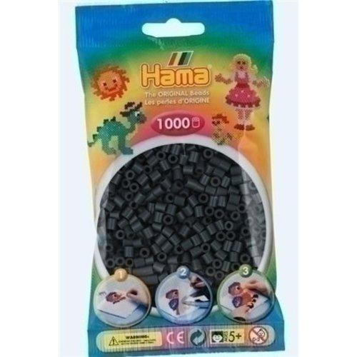 Hama Hama strijkkralen 0071 donkergrijs