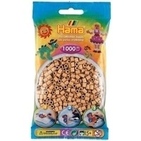 Hama midi strijkkralen lichtbruin 0075 1000 stuks
