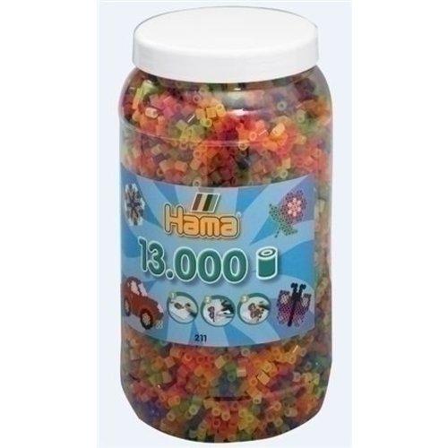 Hama Hama strijkkralen 13000 neon